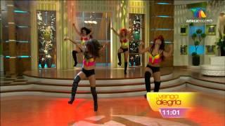 """Full HD ¡El ballet de venga la alegría bailando! """"Danza Kuduro"""" 02 ..."""