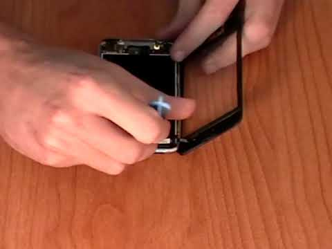 iPod Touch Digitizer Glass Screen Replacement How-to Video