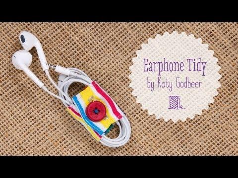 How To Make an Earphone Tidy