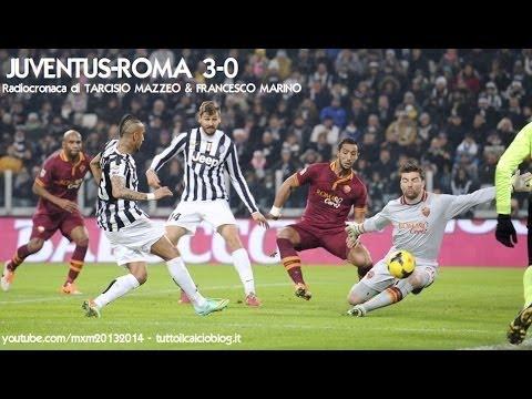 JUVENTUS-ROMA 3-0 - Radiocronaca di Tarcisio Mazzeo & Francesco Marino (5/1/2014) Radiouno RAI