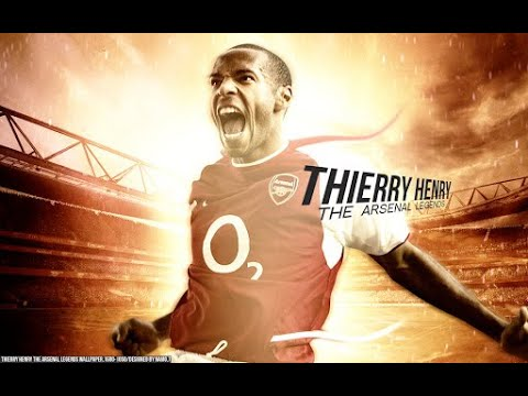 Thierry Henry: Top 10 Goals For Arsenal video