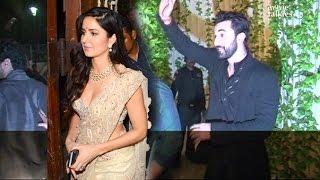 Ranbir Kapoor & Katrina Kaif Together At Amitabh Bachchan's Diwali Party 2016