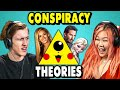 Craziest Pop Culture Conspiracy Theories  | The 10s (React)