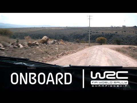 WRC Rally Guanajuato México 2015: Onboard Kubica SS20