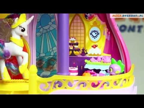 Canterlot Castle Playset / Zamek Canterlot - Cutie Mark Magic - Hasbro - B1373 - MegaDyskont.pl