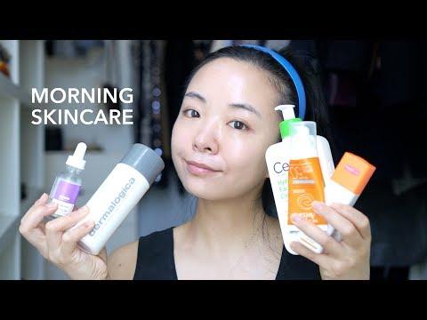 Morning Skincare Update | Anti-aging 30+ skincare, Q2 2018 | LvL