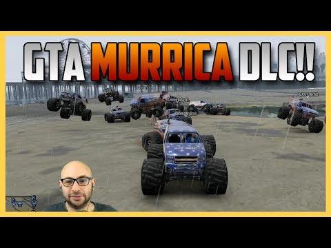 GTA 5 Independence DLC Fun! Monster Trucks, Roller Coaster, Fireworks, Mask and more! (GTA V)