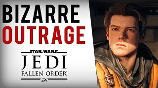 "Ubisoft Dev, Game Journalists TRASH Star Wars Jedi Fallen Order For ""Generic White Male Protagonist"""