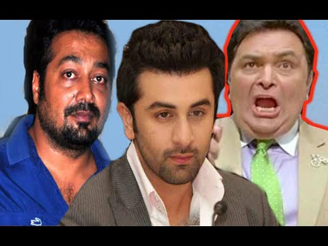 Ranbir Kapoor  and Rishi Kapoor FIGHT for 12 crores against Anurag Kashyap