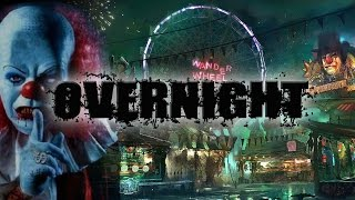 OVERNIGHT AT A HAUNTED CARNIVAL - STAYING THE NIGHT AT FAIR