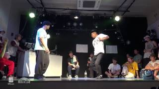 SEI vs ICHI Final(LOCK side) Final | Groove Line 2015.07.12 | UGcrapht×Groove Line