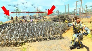 THEY WERE ALL TRYING TO TRAP ME WITH (RAZOR WIRE) SO I COULDN'T GET THEM! HIDE N SEEK ON BLACK OPS 4