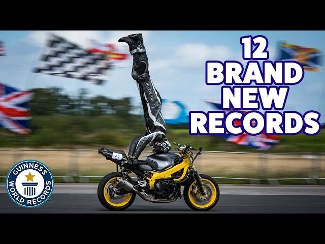 12 Amazing New Records in November 2019! - Guinness World Records