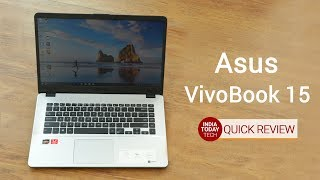 Asus VivoBook 15 X505ZA quick review: Design, display, gaming and specs