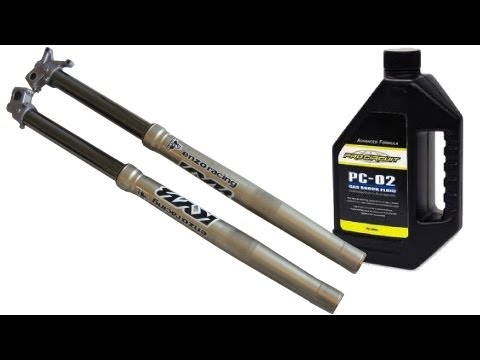 Tech Lesson 8   Changing Suspension Oil   Part 1