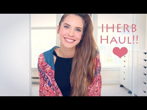 HUGE IHERB HAUL! My favourite natural products!
