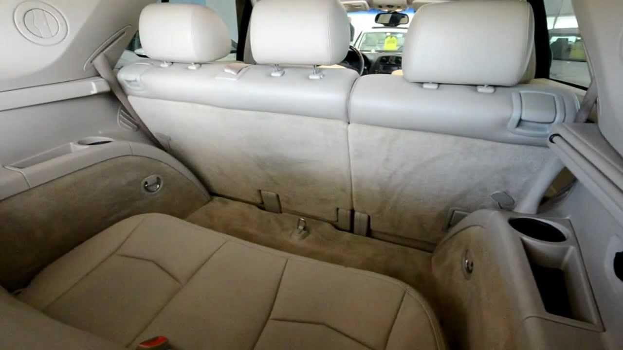2005 Cadillac Srx Disappearing Third Row Magic Seat At