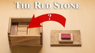 Puzzle for geniuses!? - Fit the Red Stone inside the box!