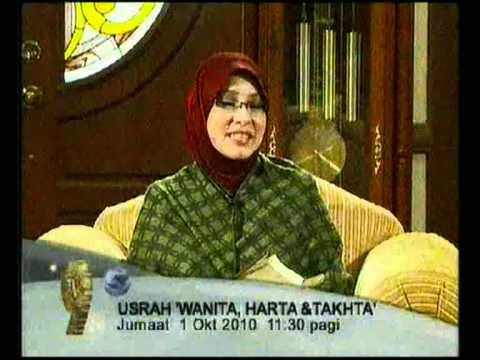 Promo Usrah - Wanita, Harta & Takhta @ Tv9! (1/10/2010)