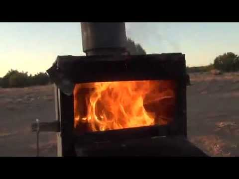Gasifier Wood Stove full video