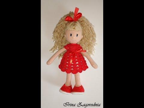 Вяжем куклу на ютубе 83