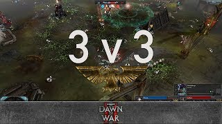 Dawn of War 2 - Faction Wars 2018 | Space Marines vs Tyranids #2