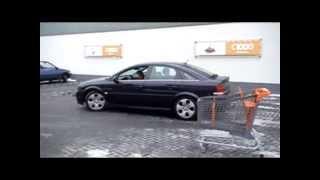 Reclamestunt Opel Vectra GTS