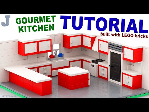 Tutorial - Lego Gourmet Kitchen [CC]