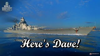 World of Warships - Here's Dave!