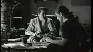 Dinner and The Card Game - Mary Astor, Bette Davis