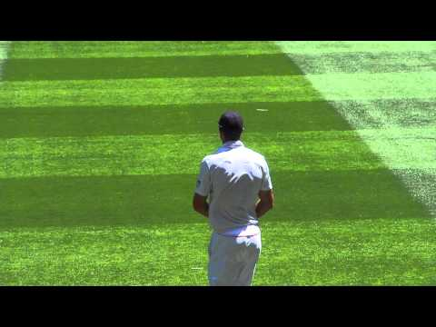 Barmy Army and KP tribute to Mitchell Johnson at MCG 2010