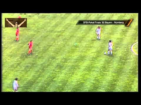 Bayern München - Nürnberg 4:2 (1982 DFB-Pokal-Finale) 1/2
