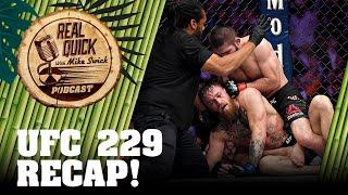 UFC 229 Recap, Highlights & Controversy! - Khabib Nurmagomedov vs Conor McGregor