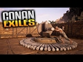 Conan Exiles Gameplay -  Iron & Coal Locations and Breaking Thrall on the Wheel of Pain MP3