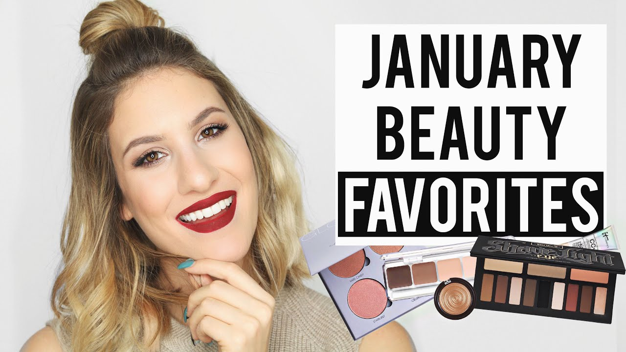 JANUARY Beauty FAVORITES 2016 | JamiePaigeBeauty