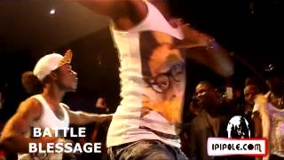 Battle Blessage Abidjan Paris DJ Arafat a la Piedra