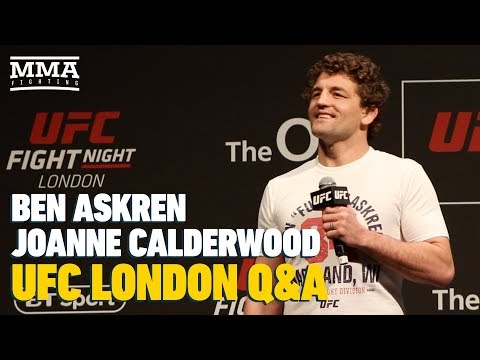 UFC London: Ben Askren, Joanne Calderwood Fan Q&A Gets Rowdy - MMA Fighting