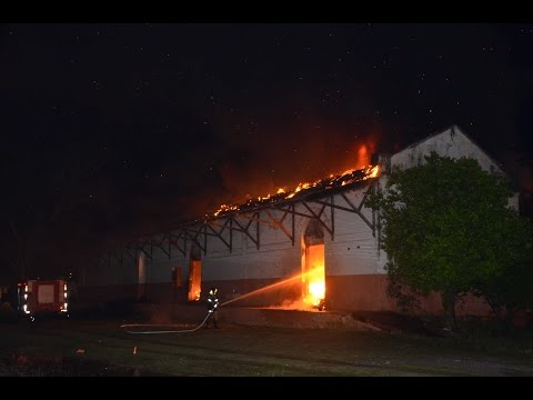 Incêndio na Estação Ferroviária (Vídeo I)