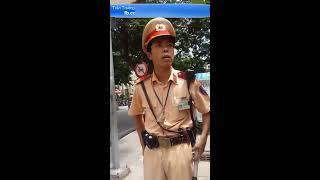 CSGT bắt láo đè vạch/sai làn, bị quay video lại chối không dừng xe =))