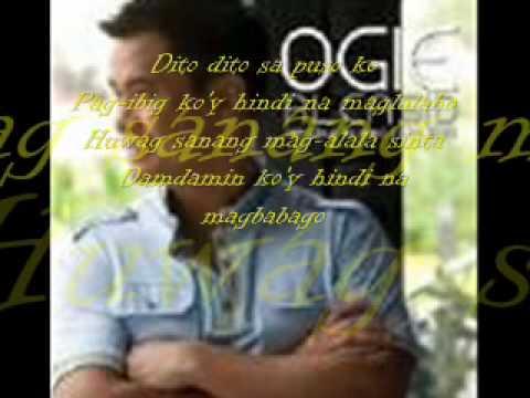 Ogie Alcasid - Dito Sa Puso Ko