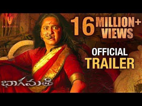 Bhaagamathie Telugu Trailer | Anushka Shetty | Unni Mukundan | Thaman S | #BhaagamathieTrailer thumbnail