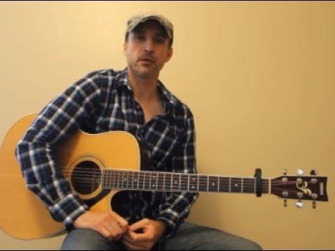 Roller Coaster - Luke Bryan - Beginner Guitar Lesson   Tutorial