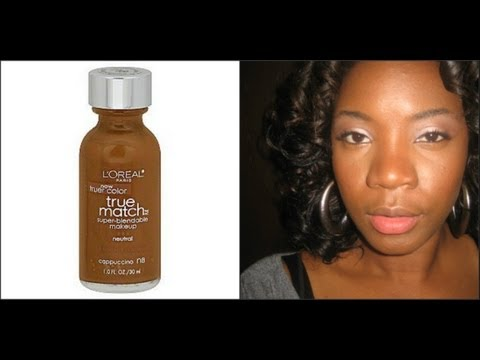 L'oreal True Match Foundation  ♥ Application & Review ♥