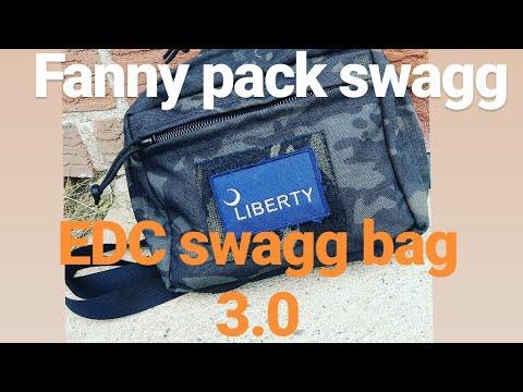#edc #swagg #masculine 2018 fall EDC UPDATE (swagg Bag 3.0)