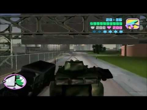 GTA Vice City: How to get Rocket Launcher, SPAS Shotgun, Colt M16 (Machine gun) and Rhino. NOTE: Entering the Fort Baxter Army Base will automatically result...