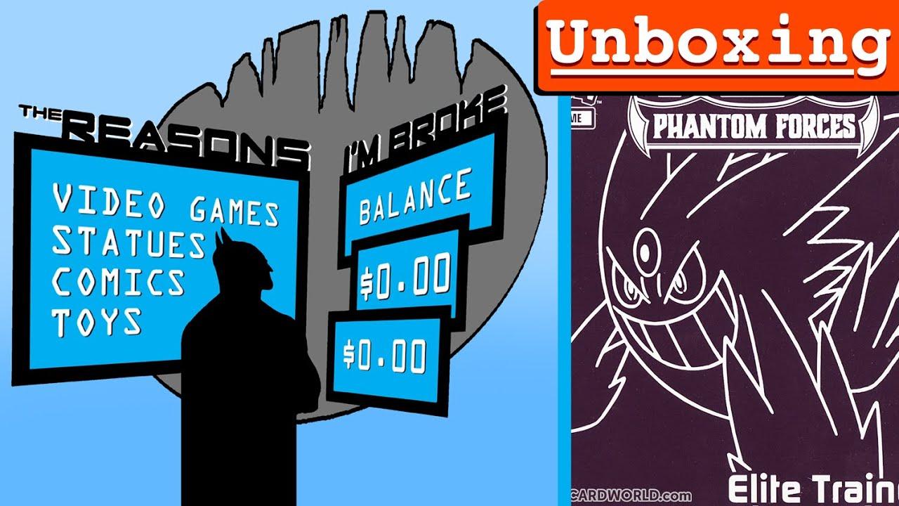 Pokemon phantom forces elite trainer box unboxing youtube