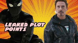 LEAKED Avengers 4 And Spider Man Far From Home Plot Points With New Lego Sets Plus Mysterio Theory