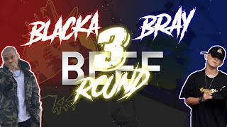 『BEEF』 Calm Down Freestyle - B Ray | Đây Là Rap Việt - Blacka | Round 3 | Video Lyrics