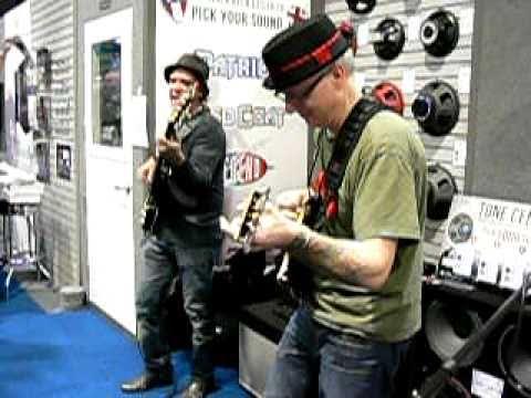 Chris Poland and Rob Pagliari at NAMM 2011