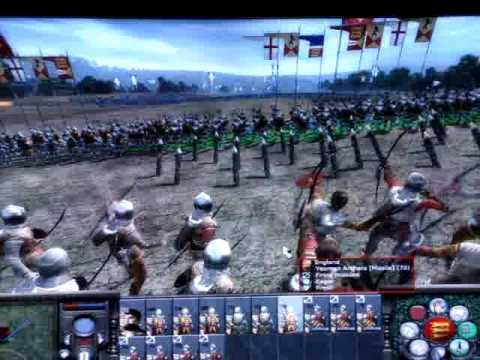 Medieval 2 Total War battle of Agincourt